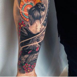 #japanese #geisha #irezumi #japanesetattoo #inkjecta #killerinktattoo #WeAreSorryMom