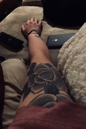 Shaded roses