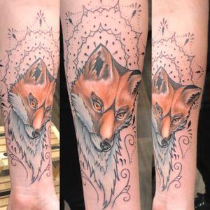 #fox #neotraditionaltattoo #ornementaltattoo