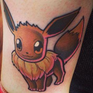 Eevee pokemon tattoo #pokemon #eevee #art