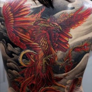 #dreamtattoo I love the phoenix, with it symbolizing rebirth and prosperity in life. I'd love to get a phoenix done by Ami on my back, but in a more Japanese style.