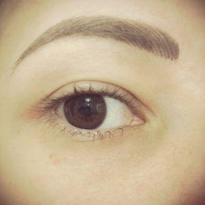Cosmetic eyebrow tattoo #angiesimone #goldcoastaustralia