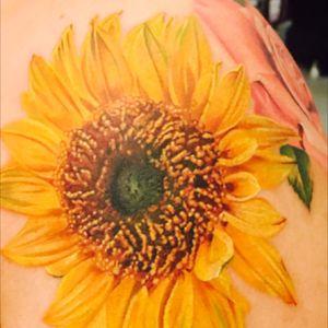 #sunflowertattoo #michellemaddison