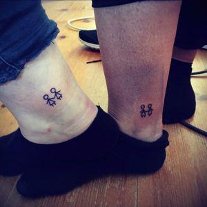 friendship tattoo made by chaoss ink