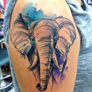 Elephant for my experience in Kenya #elephant #thighpiece