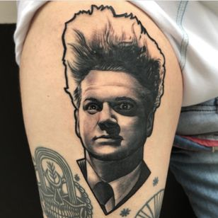 Tattoo para mi gran amigo @danidorigami @blackworkers @radiantcolorsink #valencia #spain #thebesttattooartists #thebestspaintattooartists #latintaquehabito #largavidatrece #black #realismo#ink #inkjunkeyz