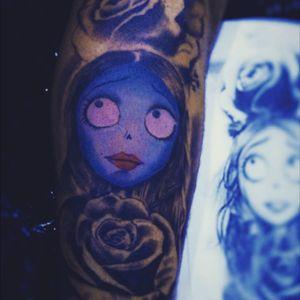 Work in progress #tattoo #TimBurton #intenzecolors #inprogresstattoo