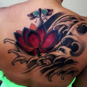 Artist #fibs #lotus #dragonfly