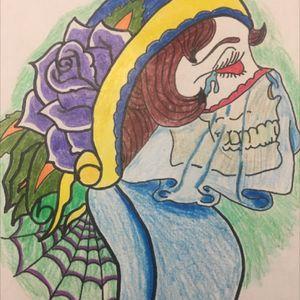 #gypsygirl #oldschool #roseandweb