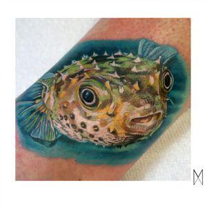 🐡 #EnyaMahuta #realism #realistic #ny #brooklyn #fish #pufferfish
