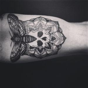 #deathmoth #mandala #skull #DarkArt