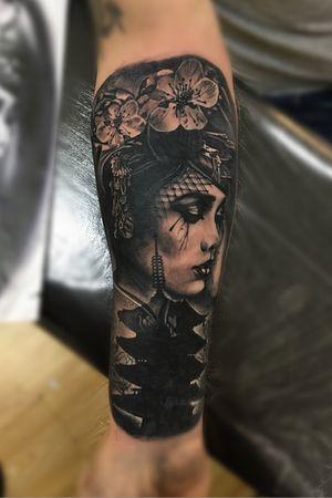 #tattoooftheday #tattoodo #inkjunkeyz #blackandgrey #japanese #inkedmag #sullenartcollective