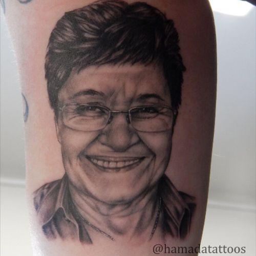 Portrait ...#hamadatattoos #portrait #realistic #blackandgrey #tatuadorbrasileiro #electricink #Tattoodo