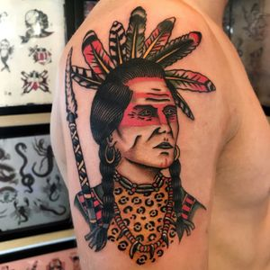 #indian #chief #milano #milanotattoo #topclasstattooing #oldlines #americanatattoos #traditionaltattoo #classictattoo #besttradtattoos #tradworkers #italian_traditional_tattoo #tattoolifemagazine #mansruintattooclub #bright_and_bold #tattoodo #blackworkerssubmission #tattoosnob #blackworkers #supportgoodtattoos #taot #tattooartistmagazine #radtrad #trflash #tattooculturemagazine #tttpublishing #quartiereisola #tattoomilano #traditionalartist