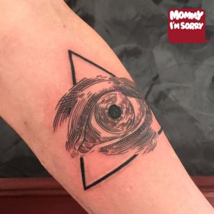 #fineline #eye #black #linework #detail #micro #illuminati