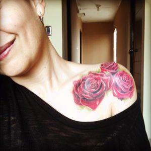 #roses #3redroses #collarbone