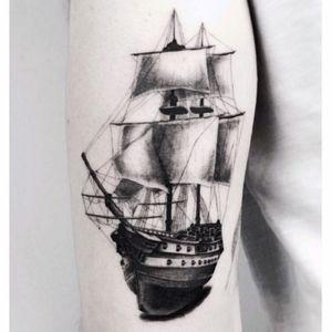 #jakubnowicztattoo #ship#