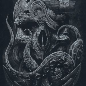 #dreamtattoo  it would represent my time in the Navy and Death Given while serving in the Army. With the Kraken collecting the souls of all my brothers and sisters.