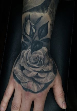 Healed hand Rose