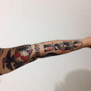This my USMC tatoo