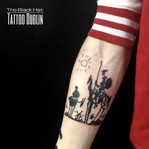 The talented @j_kennedy_tattoos has few free space this week! Just pop in he will be there @theblackhattattoodublin from 11am to 7pm - free consultation . . . . #donquijote #tattoo #tats #blacktattooworkers #blackwork #blackworktattoo #blackworkerssubmission #inkmaster #irishinkers #dublintattoo #inkdublin #inked #inkmagazine #inkstinktsubmission #inkstinct #armtattoo #tattoos #tatuajes #tatuagemsp #tatouage #drawing #blackhatdublin #donquixote #donquichotte #migueldecervantes