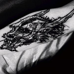 #dragonhead #blackink