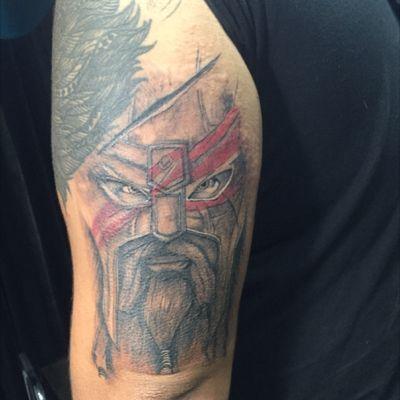#vikingtattoo #Odin #inprogress