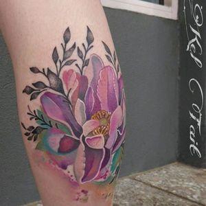 #flower #floral #peonytattoo #keltaittattoo @kel.tait.tattoo #peony