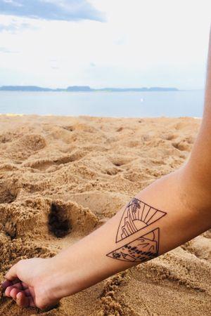 #beach #beachtattoo