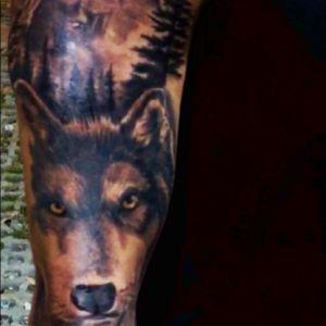 #wolf #SegundoTattooer #inkmaster