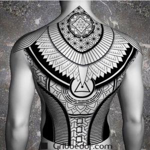 #markgriboedov #linework #tribal #backpiece