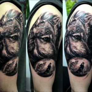 #customtattoos #wolftattoo #wildlife #memories #indietattoo #tattoer #traveler #newzealand #indie #experience