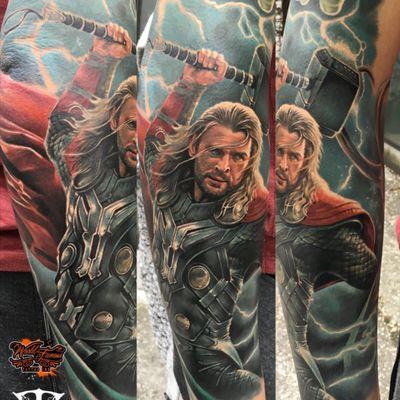 #thor #tattooartist #tattooart #ink #inked #color #colortattoo #realism #realistic