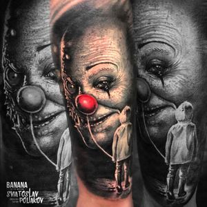 #pennywise #horror #tattoo