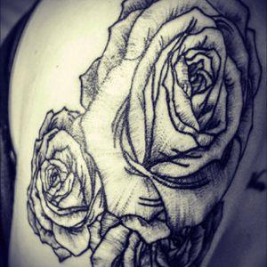 #rose #roses #rosetattoo #rosestattoo #flower #flowertattoo #flowers #flowers