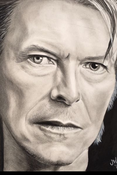 #davidbowie #pencil #portrait