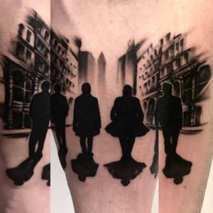 ✖️ FOUR BROTHERS ✖️ #blackandgrey #oldstreets #silhouets #fourmen #realism