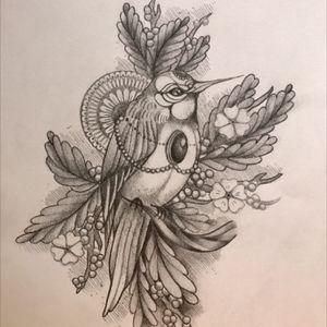 #bird #birdandflowers #neotraditioal #drawing #art #love_ink #tattaatattoo #tattoo_artwork #tattooaddict #nature #natureart