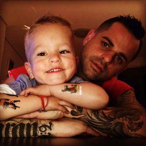 #fatherandson #inkaddict #onelove
