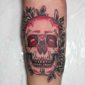 #tattooskull #skull #tattoo #tatuagemcaveira #caveira #tatuagem #jeffinhotattow