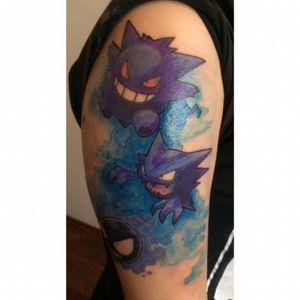 #pokemon #pokemontattoo #tattooart #freethis #tattooartist #gamer #videogametattoos #gamertattoo #gamerink