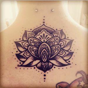 #lotus #lotustattoo #mandala #mandalatattoo