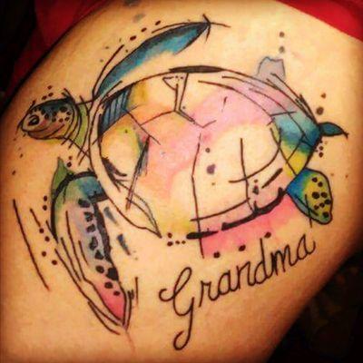 #watercolor #turtle