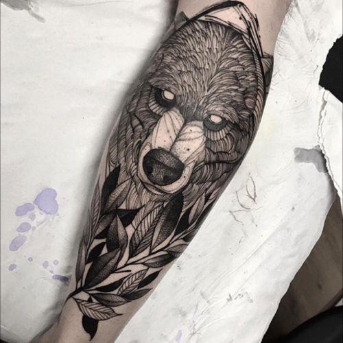 #fredaooliveira #bear #blackandgrey