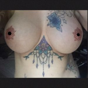 Nipple and underboob tattoos May 2016