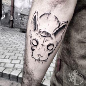 #polandtattoo #tattoosketch #sketchtattoos #blackwork #blackartist #blxcink #SphynxTattoo