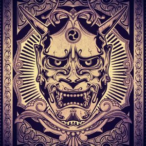 If I were to be chosen for the Ami James tattoo winner it would be this oni mask #dreamtattoo #yokai #mask #japanese