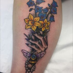 Done by Stevie Sue- Skin illustrations whitstable