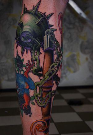 Flail #flail #tattoo #tattoodoambassador
