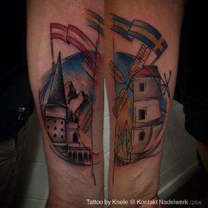 #pairtattoo #couple #couplestattoo #tattooedcouple #austria #sweden